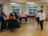 Tai chi talk at Beulah Garden Homes
